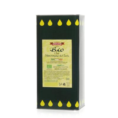latta bio olio extravergine di oliva 5L