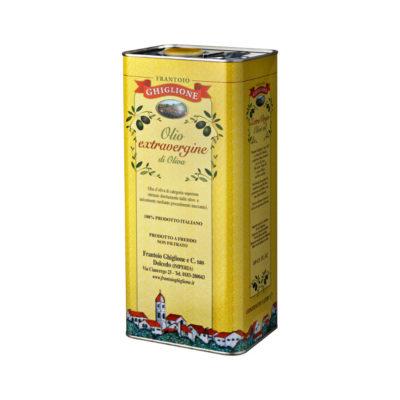 lattina olio 5 litri