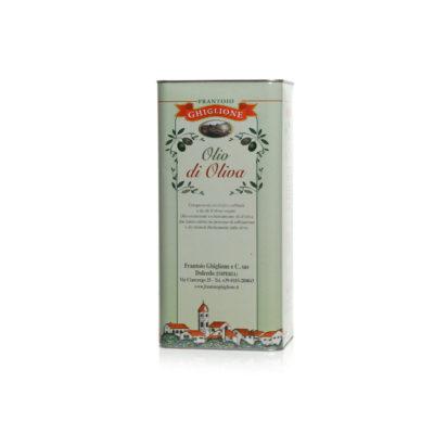 latta olio di oliva 5L