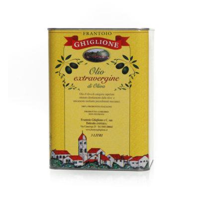 latta olio extravergine di oliva 3L